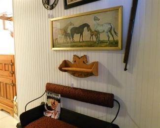 "John Wayne and ""cowboy"" items"