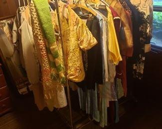 Child's kimono, vintage clothing.