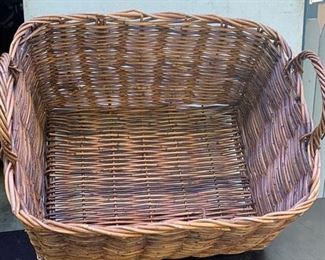 Large early twig basket