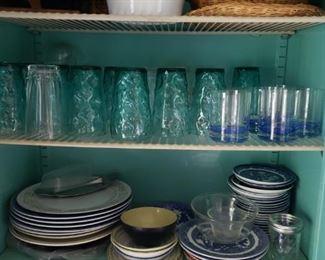 Glassware, dishes