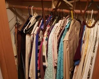 Women's clothing, purses