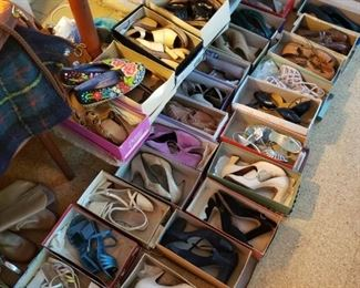 So many shoes! Size 6 1/2 + or -