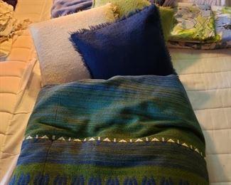 Bedspread, pillows