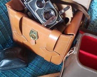 Vintage Ikoflex camera