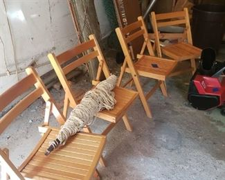 Chairs, hammock