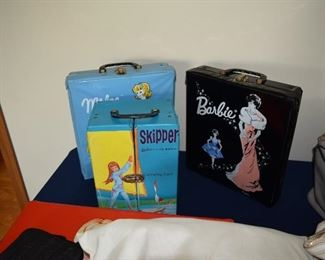 Vintage Barbie & Skipper Cases