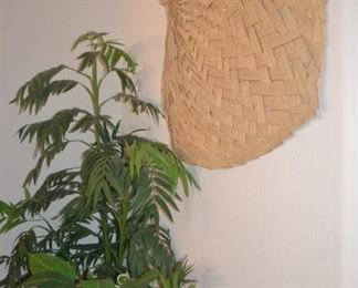 Artificial Greenery, Woven Decor
