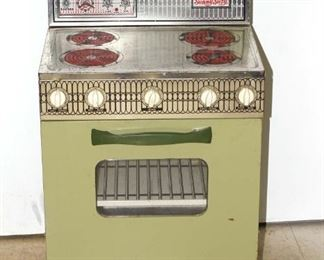 vintage toy oven