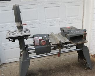 SHOP SMITH WITH LOTS OF ATTACHMENTS AVAILABLE FOR EARLY SALE.  $1750.