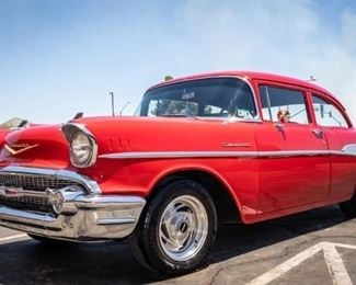 Lot 279a - 1957 Chevrolet Two Door Sedan Bel-Air