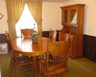 dining room  /hutch