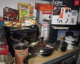 Tons of Unopened Small Appliances