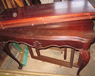 Mahogany Card Table with Leaves
