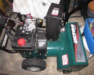 Ultra Snow Blower Very Gently Used