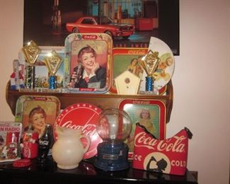 Coca-Cola Collectors Dream Sale! Vintage Vendo Bottle Vending Coca-Cola Machines  Coca-Cola Wall Art Memorabilia Tons of Coca-Cola Memorabilia, Bottles, Trays and so Much More Vintage Coca-Cola Cooler