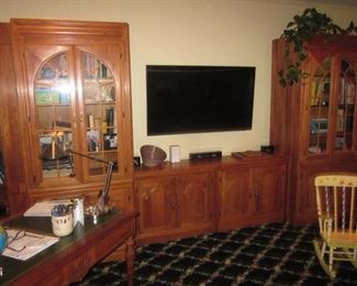 Custom Wall Unit Can Be Separated