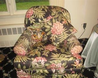 Floral Comfortable Arm Chairs