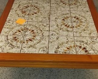 tile top coffee table $75
