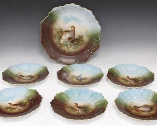LOT 6 - SET OF (7) BAVARIAN CABINET PLATES, 1900'S