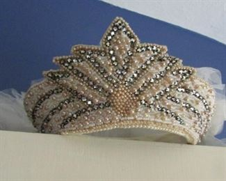 I believe the first bride to wear this head piece was in 1939