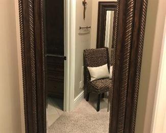 Standing mirror -- door to jewelry cabinet