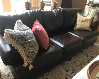 Leather couch #1