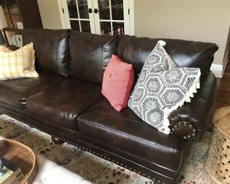 Leather couch #2