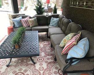 Outdoor/patio ensemble