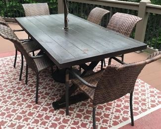Another patio/deck set