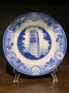 University of Michigan plate