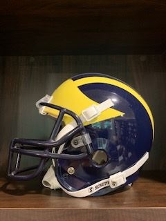Regulation University of Michigan helmet