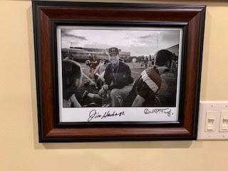 Jim Harbaugh (UM head coach) signed photo