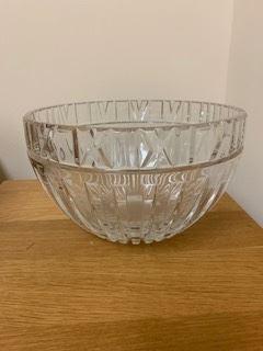 Crystal tiffany bowl
