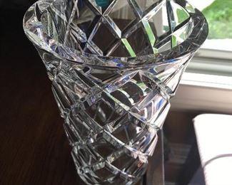 Tiffany crystal vase (Germany)