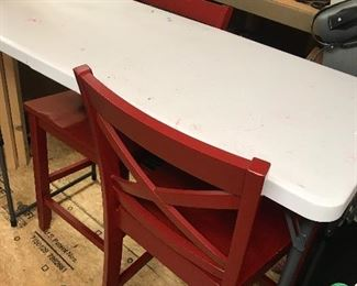 High table w/chairs