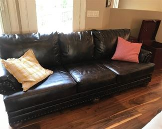 Leather couch (2 of 2)
