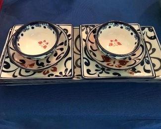 Oriental dishware set