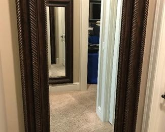 Large full length mirror w/hidden jewelry compartment (closed)