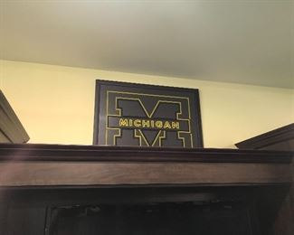 Several University of Michigan items …..