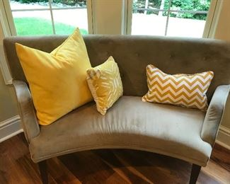 Curved loveseat (2 of 2)