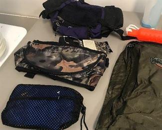 Backpacks, Fannie packs
