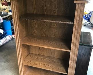 Beautiful wooden shelf unit