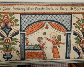 Vintage Denmark Art piece