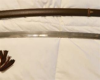 PRESALE -WWII Imperial Japanese Officer Shin-Gunto - SIGNED Sword $2,000.00 OBO -Contact for appointment