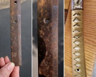 Signed Tang - WWII Sword - $2000