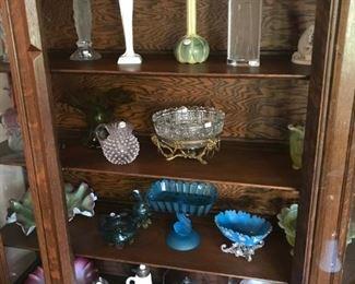 Vaseline Glass, Syrups, Biscuit Jars, Brides Bowls, Lalique, Rosenthal, Goebel...
