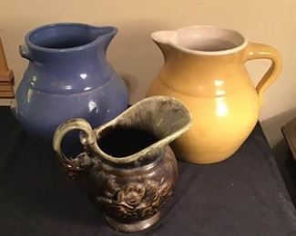 Pottery Pitchers