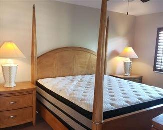 King size bedroom set - $800