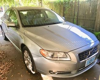 2007 Volvo S80 with only 78,021 miles  SOLD