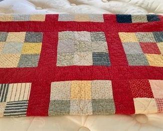 Block Quilt - Circa 1930's